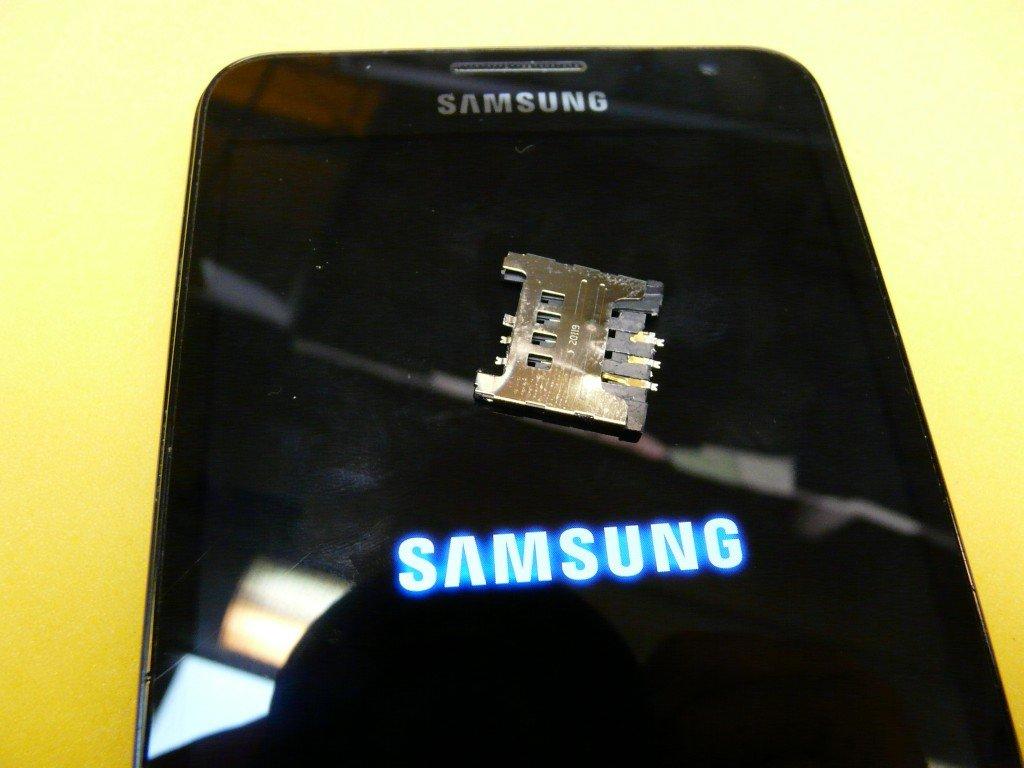 Samsung Galaxy N7000 GT-N7000 SIM Kard Defekt (10)