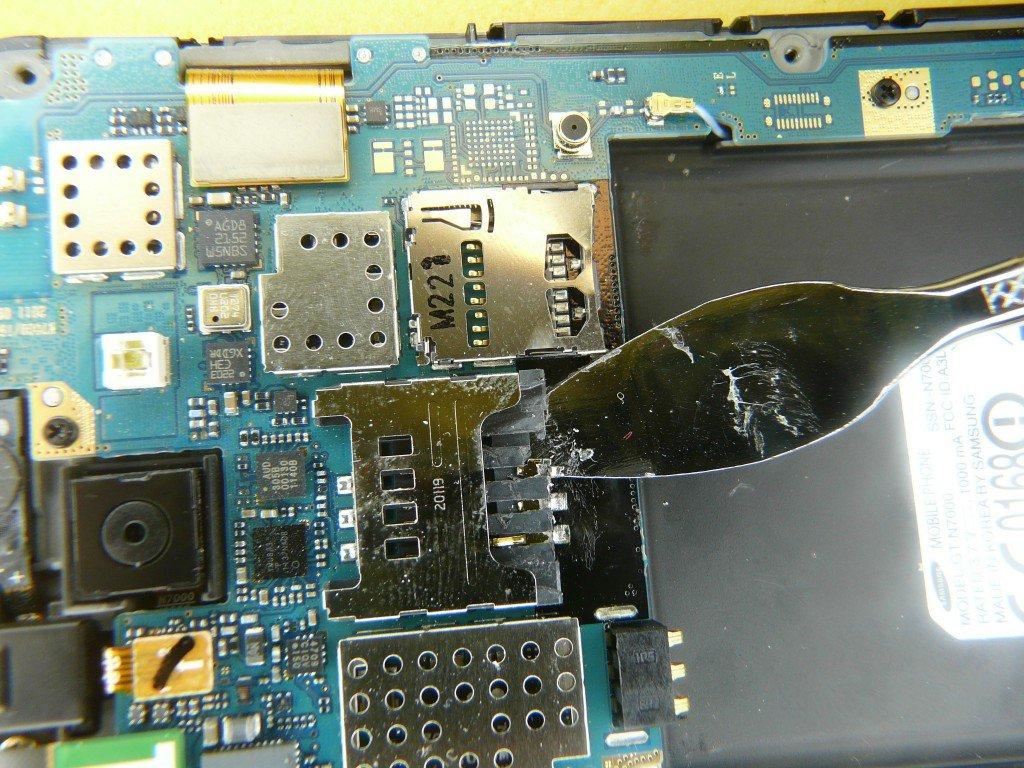 Samsung Galaxy N7000 GT-N7000 SIM Kard Defekt (7)