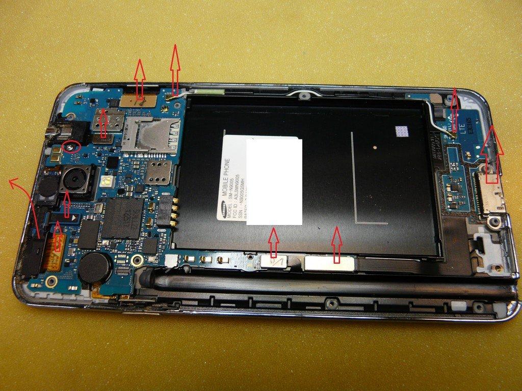 Samsung Galaxy Note3 SM-N9005 Display defekt (6)