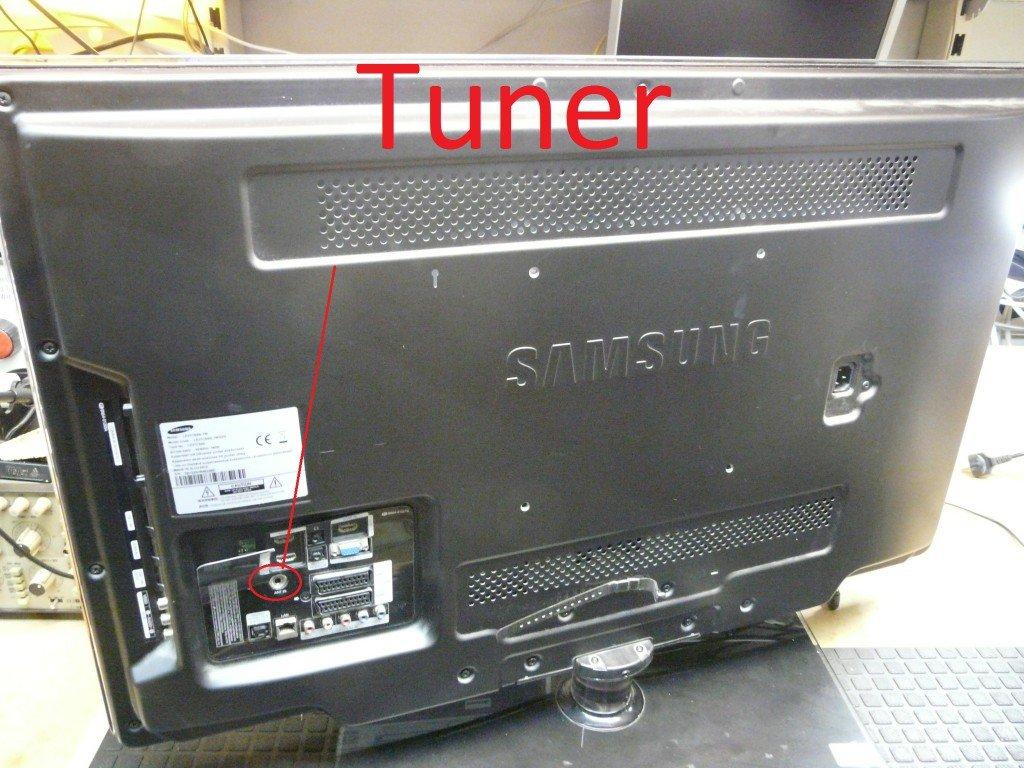 Samsung LE37C650L1W Tuner (2)