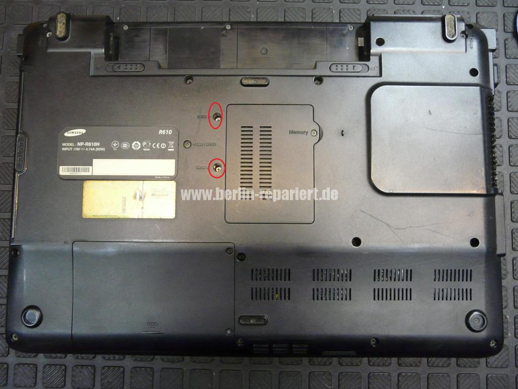Samsung R610, Tastatur Defekt (4)