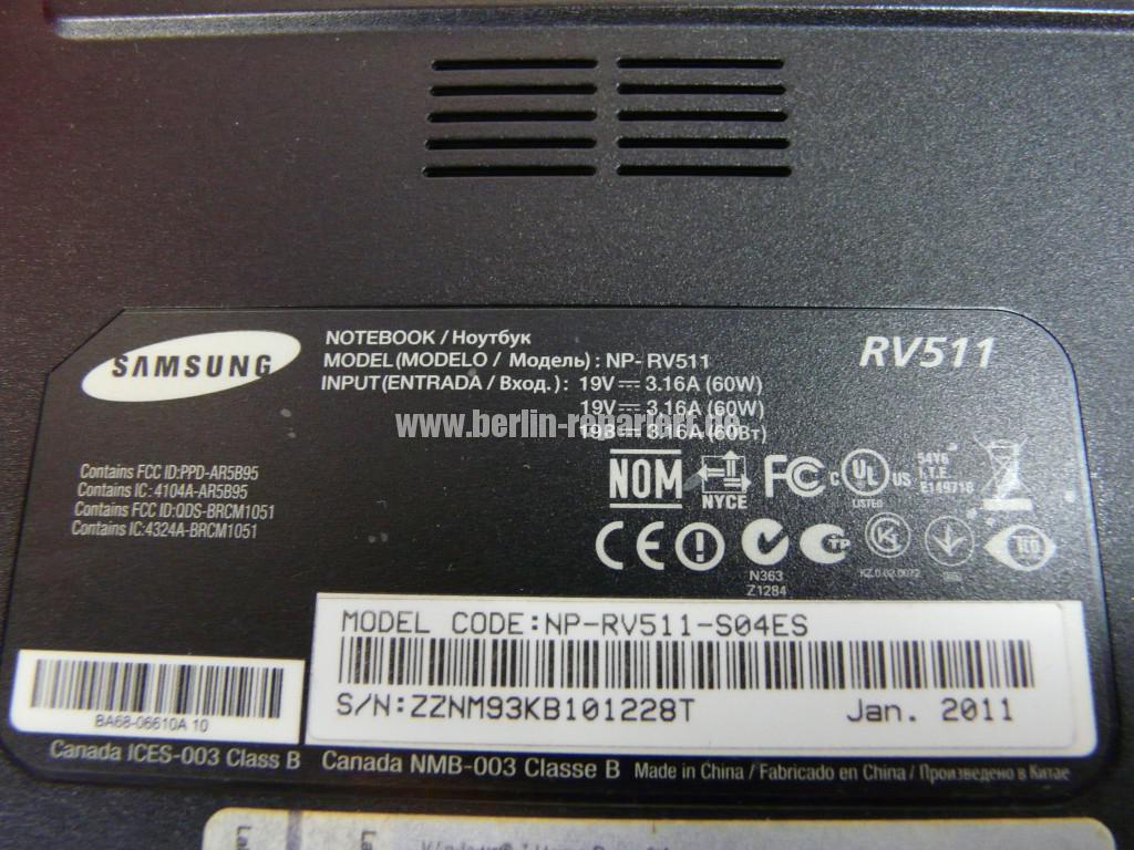 Samsung RV511, Netzbuchse Defekt (9)