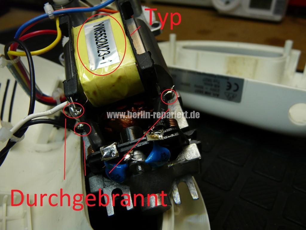 Severin HM 3827, keine Funktion, Durchgebrannt  (4)