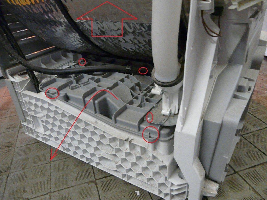 Turbo Siemens IQ500, Trocknet nicht richtig, Verstopft, Reinigen – Atlas SS19