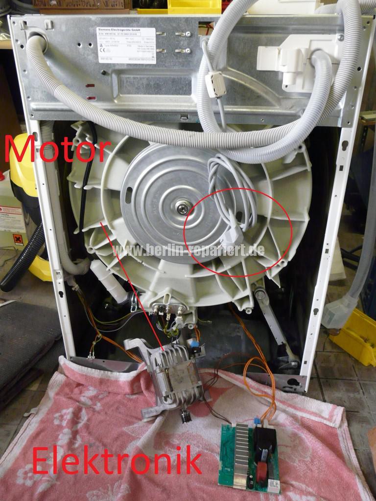 Siemens S16-74 WM 16S742, Motor Elektronik Defekt (1)