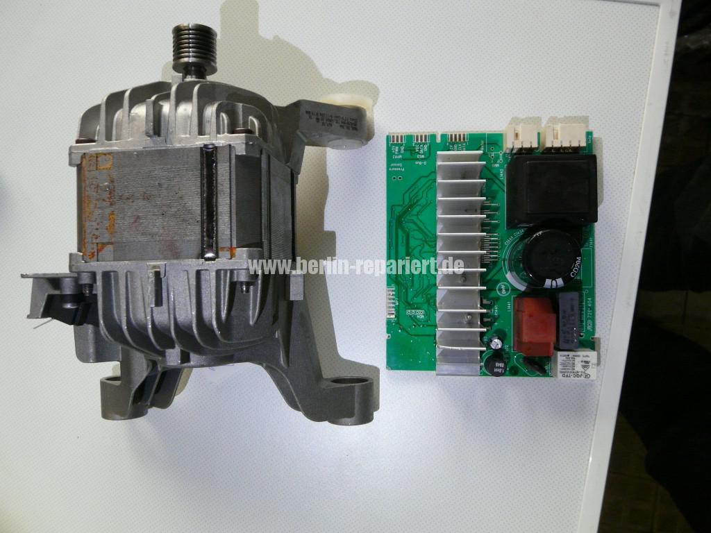 Siemens S16-74 WM 16S742, Motor Elektronik Defekt (10)