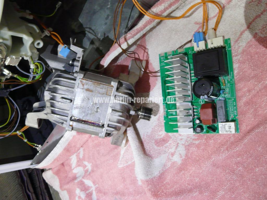 Siemens S16-74 WM 16S742, Motor Elektronik Defekt (3)