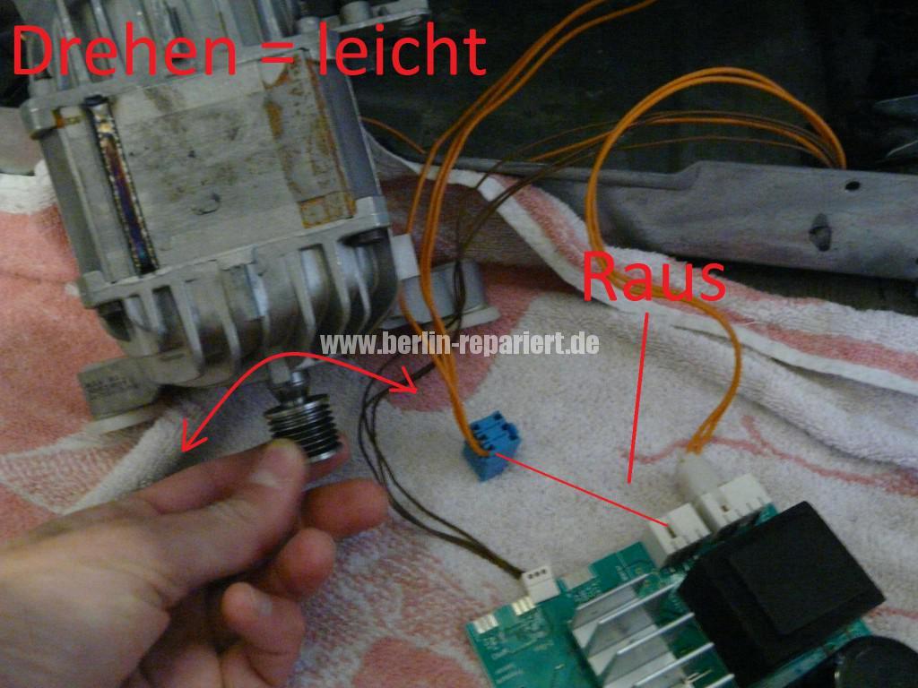 Siemens S16-74 WM 16S742, Motor Elektronik Defekt (5)