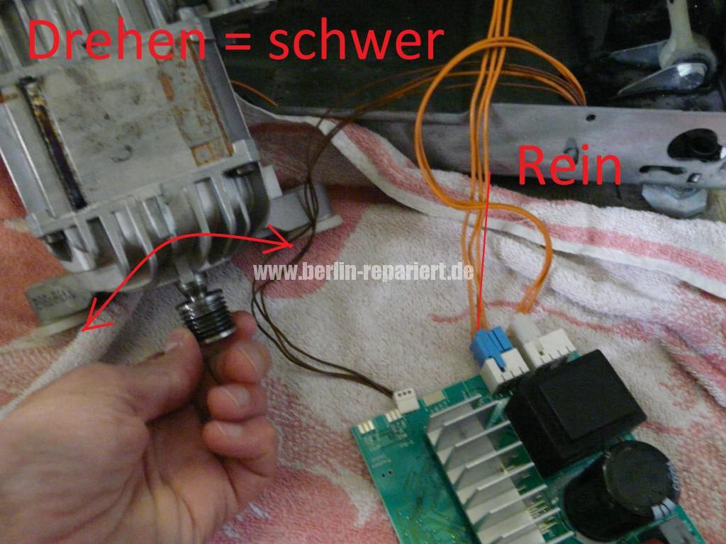 Siemens S16-74 WM 16S742, Motor Elektronik Defekt (6)