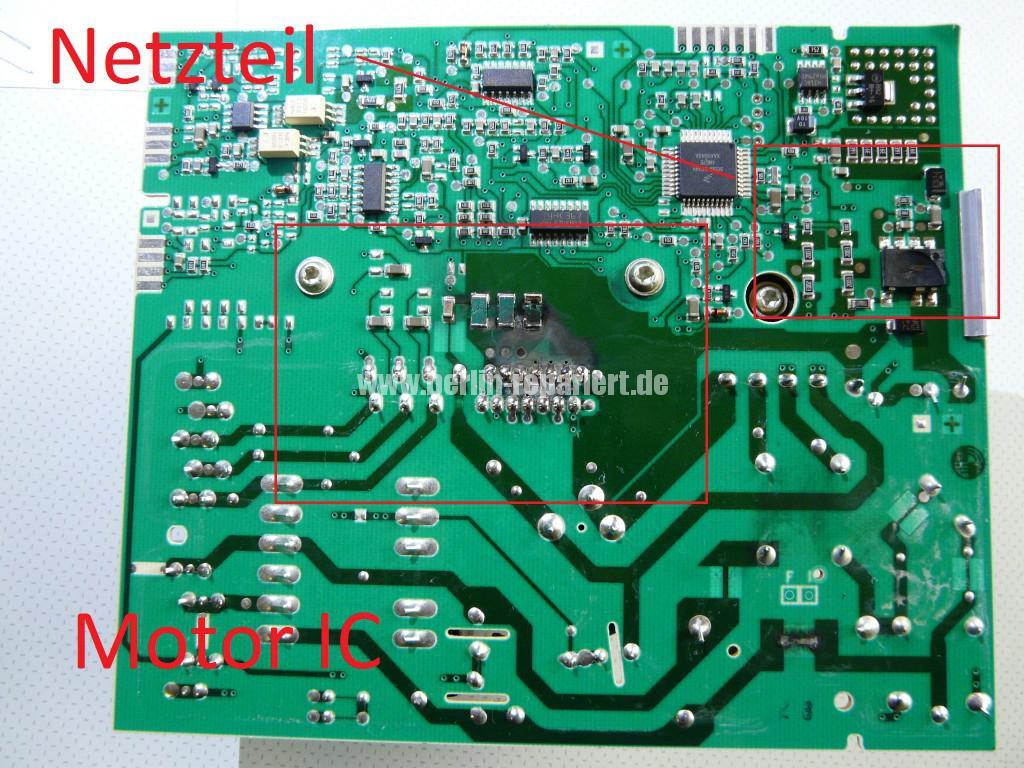 Siemens S16-74 WM 16S742, Motor Elektronik Defekt (8)