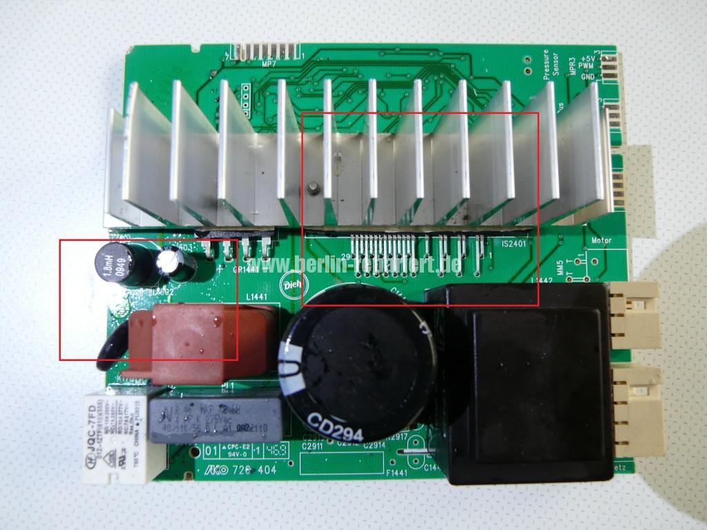 Siemens S16-74 WM 16S742, Motor Elektronik Defekt (9)