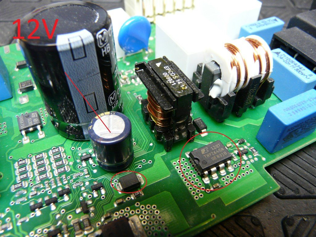 Siemens SN45M539EU, Elektronik Defekt, keine Funktion (3)