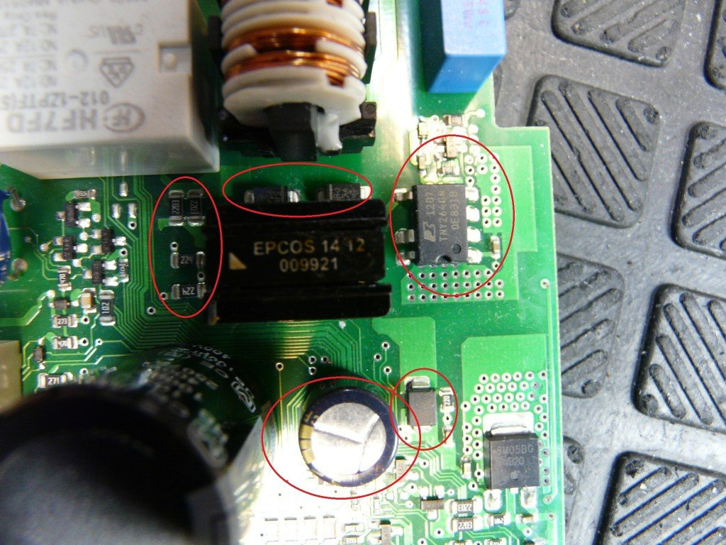 Siemens SN45M539EU, Elektronik Defekt, keine Funktion (5)