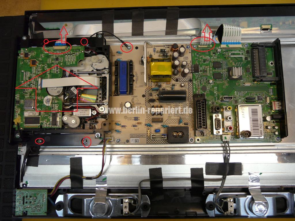 Sony KDL-22BX20D, kein Bild (5)