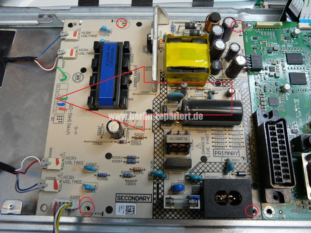 Sony KDL-22BX20D, kein Bild (7)