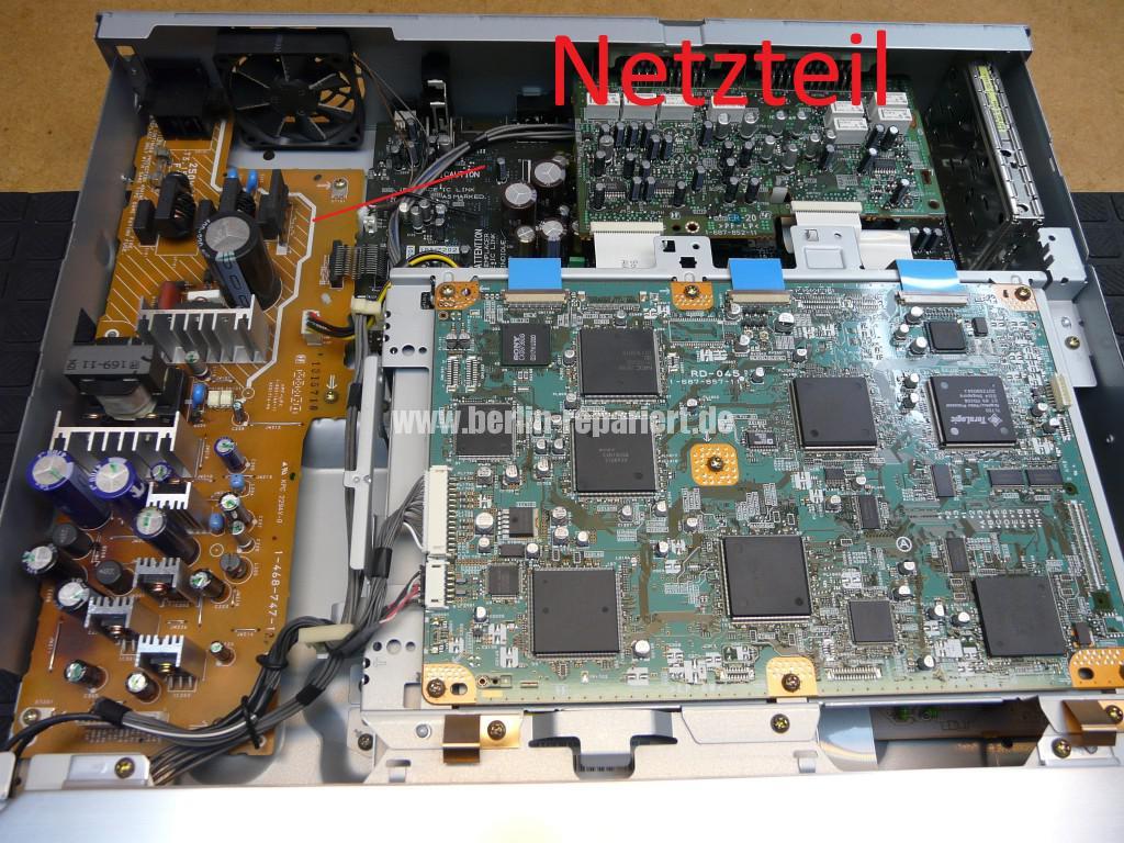 Sony RDR-GX7, Aufnahme Störung (2)