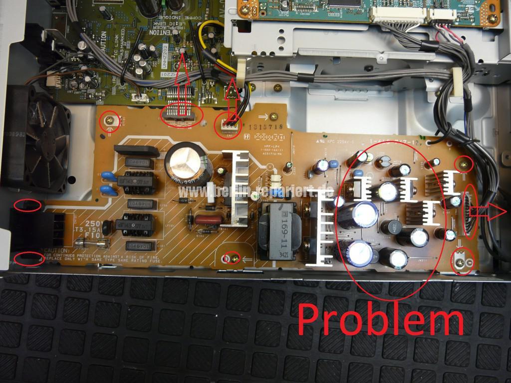 Sony RDR-GX7, Aufnahme Störung (4)
