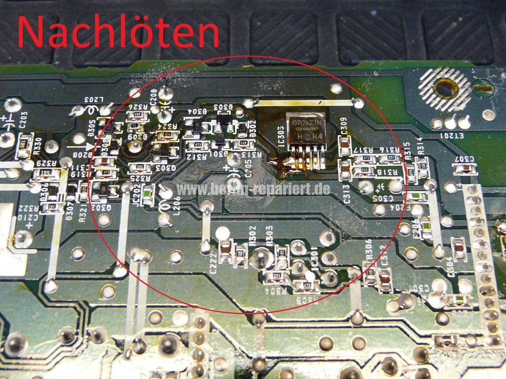 Sony RDR-GX7, Aufnahme Störung (5)
