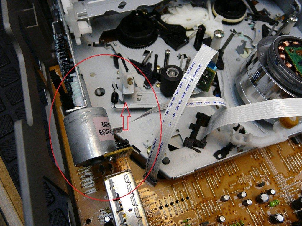 Sony SLV-D910E Kassete kommt nicht raus (6)