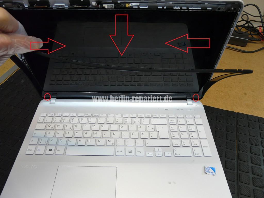 Sony Vaio SVF152C29M, Display tauschen (2)