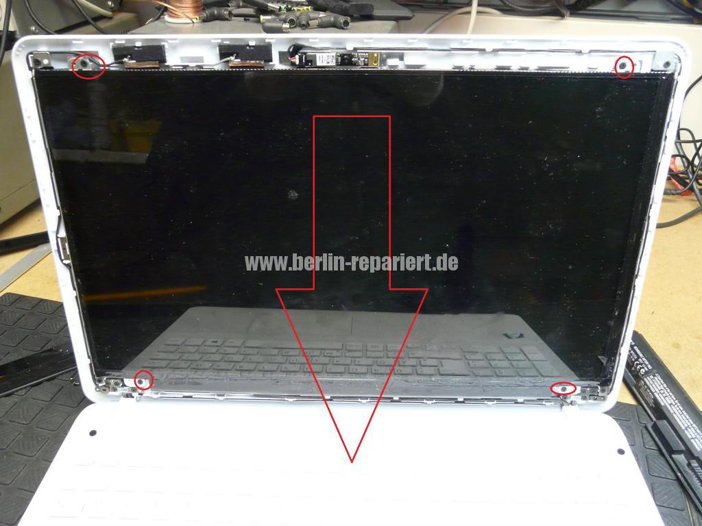 Sony Vaio SVF152C29M, Display tauschen (4)