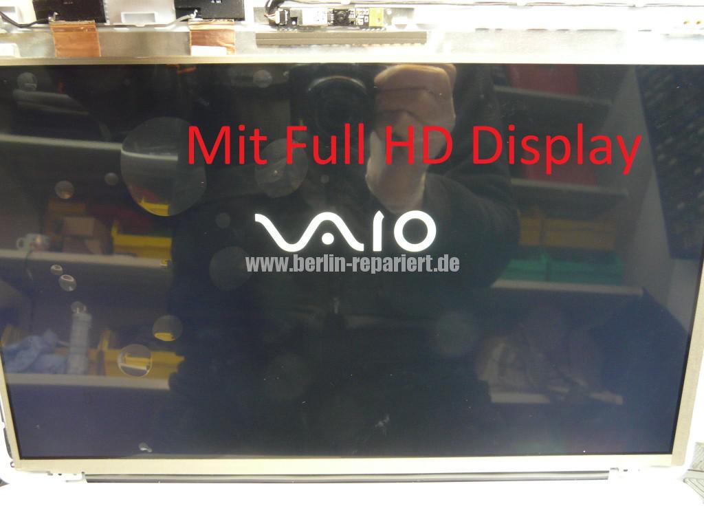 Sony Vaio SVF152C29M, Display tauschen (6)