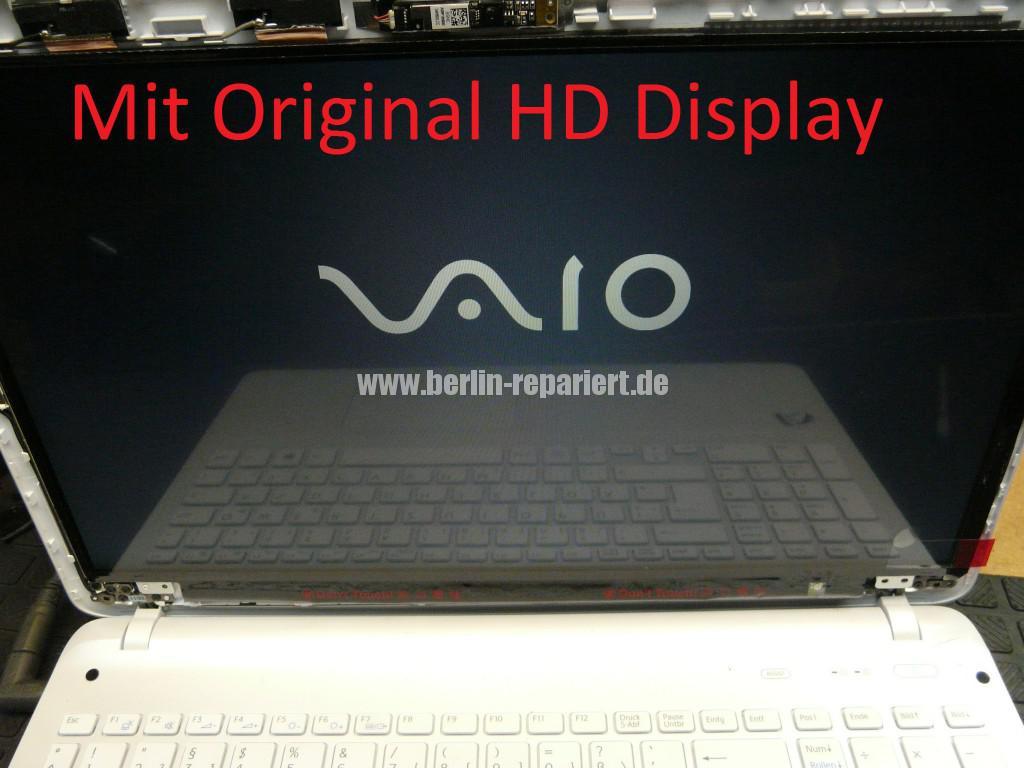 Sony Vaio SVF152C29M, Display tauschen (7)
