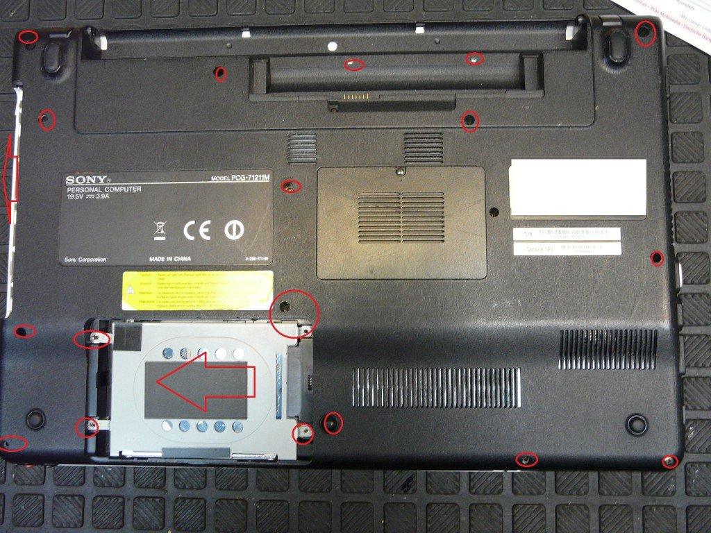 Sony Vaio VPCEB4M1E, Lüfter Defekt (3)