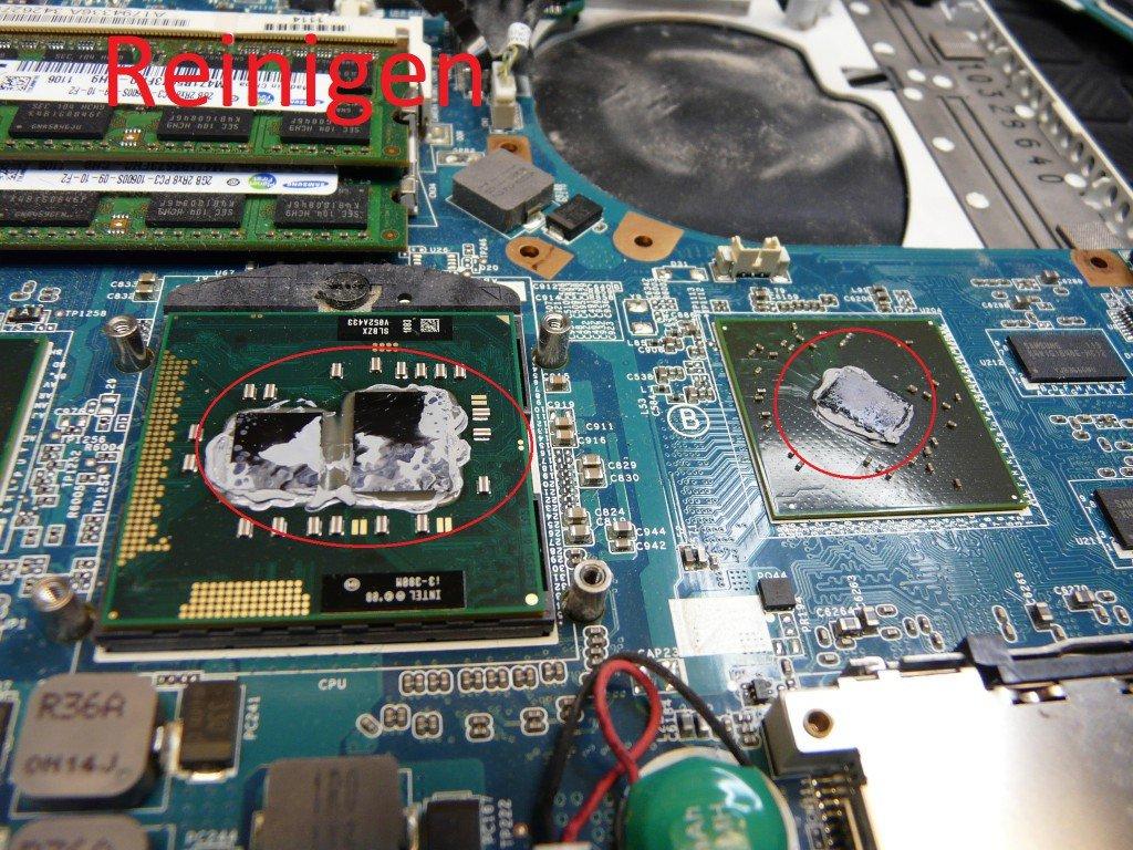 Sony Vaio VPCEB4M1E, Lüfter Defekt (6)