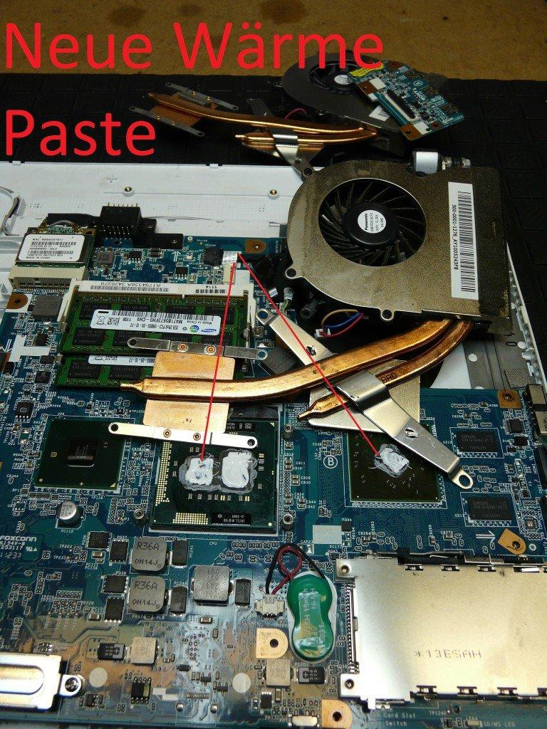 Sony Vaio VPCEB4M1E, Lüfter Defekt (8)