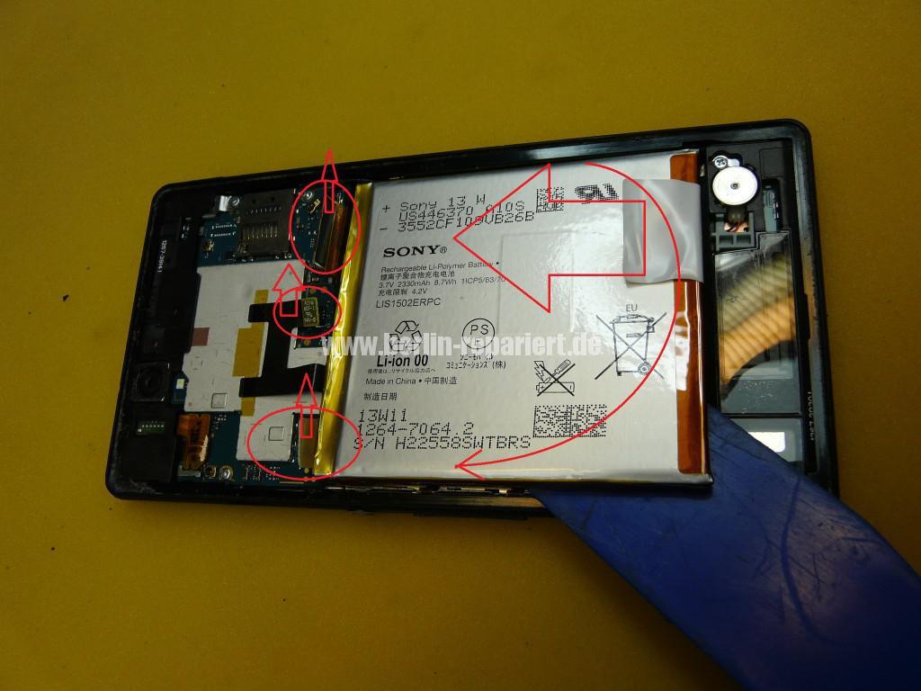 Sony Xperia C6603, Display Defekt (5)