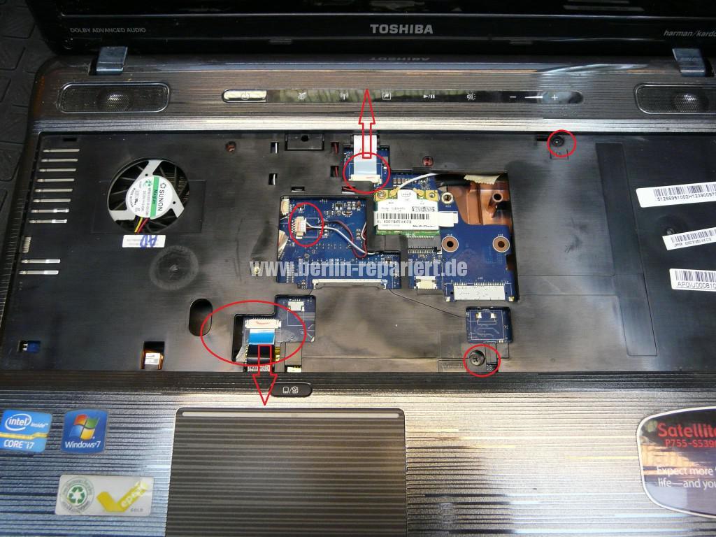 Toshiba P755, Netzbuchse Defekt (4)