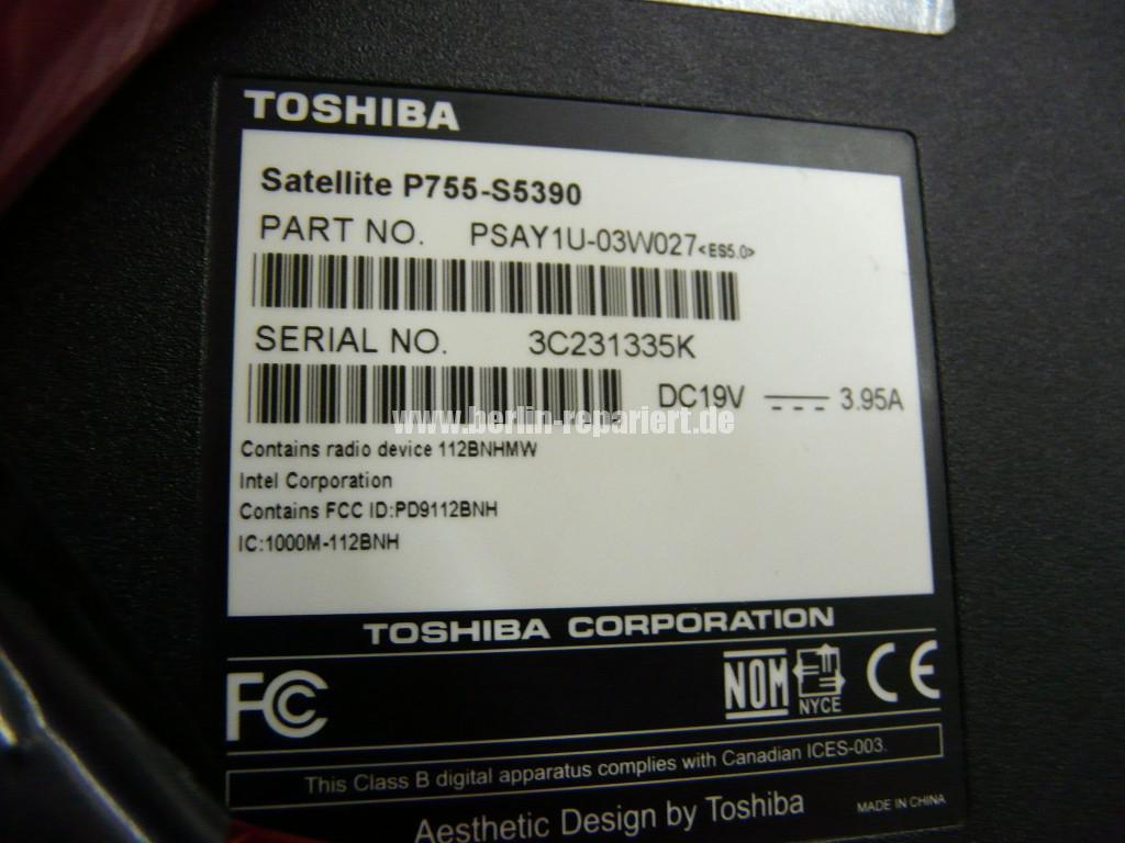 Toshiba P755, Netzbuchse Defekt (8)