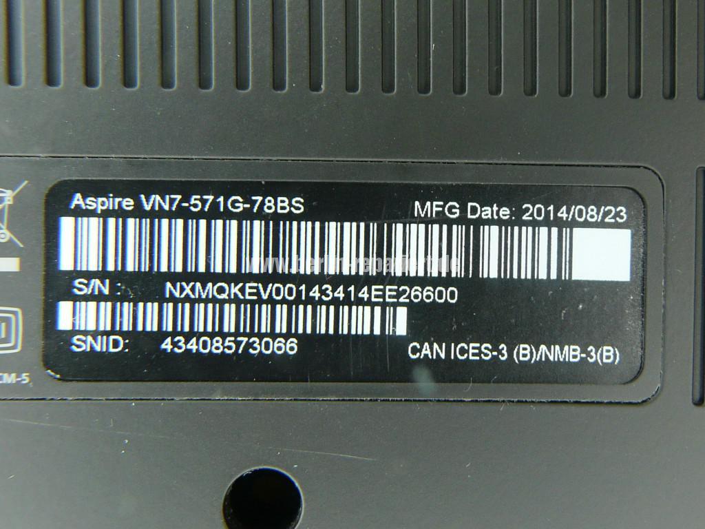 ACER Aspire VN7-571G, Lüfter Reinigen (10)