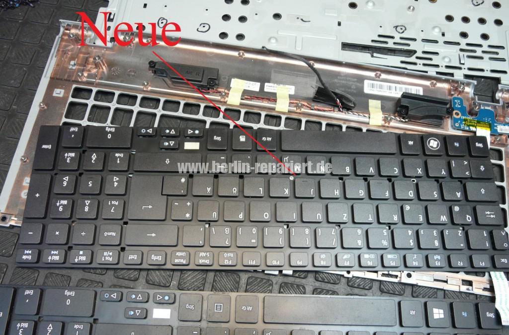 ACER V3-771, Tastatur Defekt, Tastatur tauschen (10)