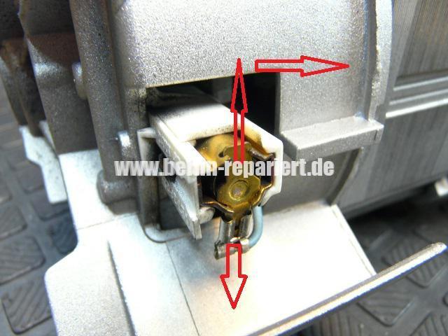 AEG Motor, Kohlebürsten abgenutzt, Motor Revidieren (2)