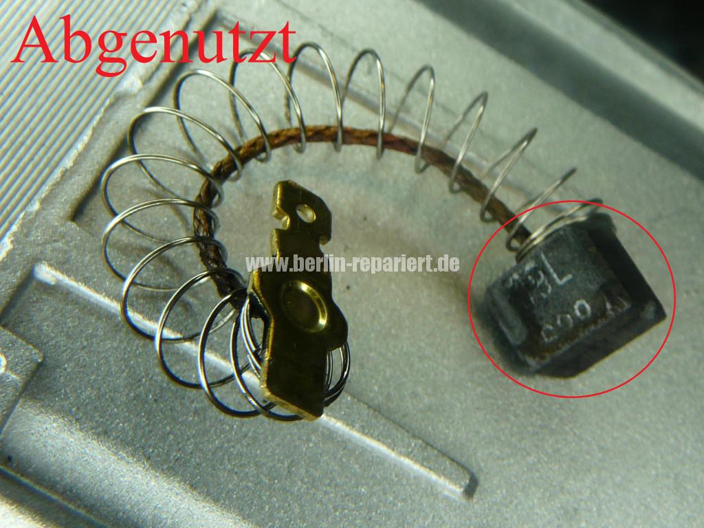 AEG Motor, Kohlebürsten abgenutzt, Motor Revidieren (3)