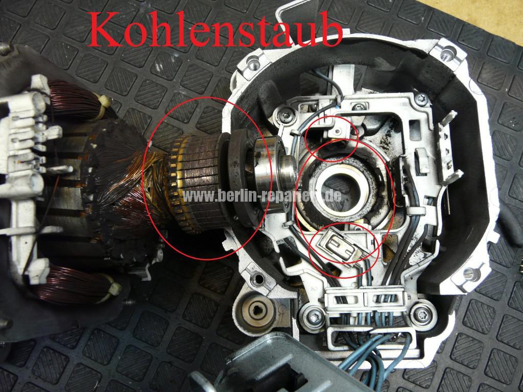AEG Motor, Kohlebürsten abgenutzt, Motor Revidieren (7)