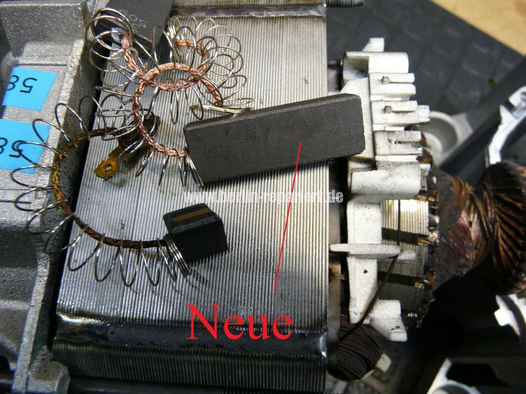 AEG Motor, Kohlebürsten abgenutzt, Motor Revidieren (8)