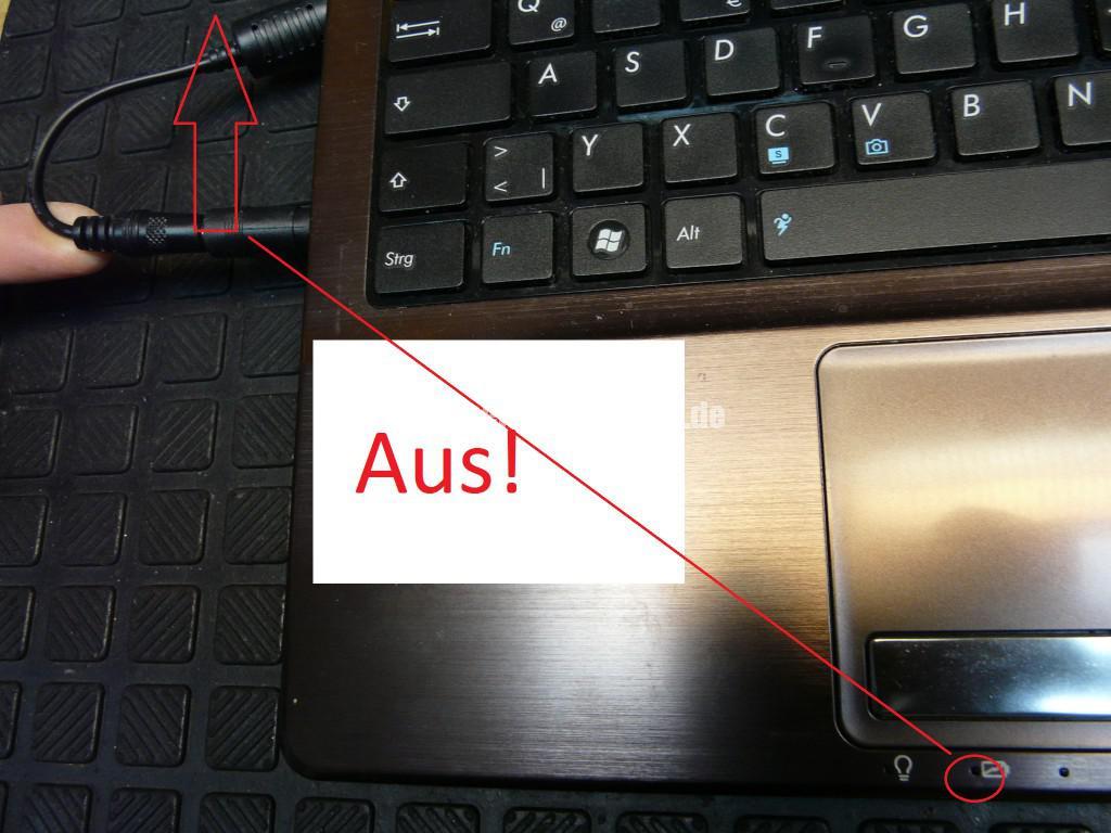 ASUS A53, Netzbuchse Defekt (3)