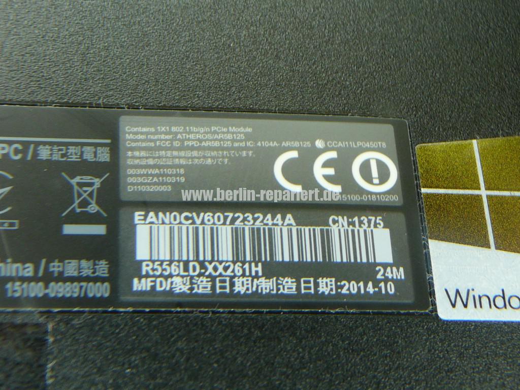 ASUS R556LD, Display Defekt (10)