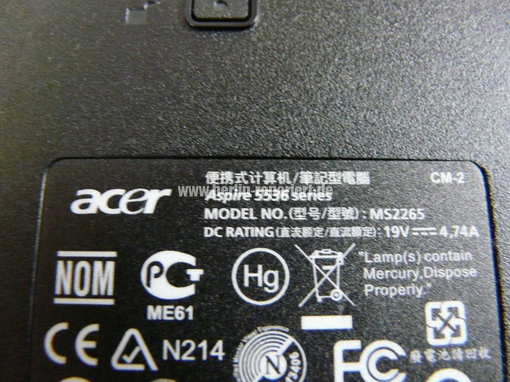 Acer Aspire 5536, kein Bild (11)