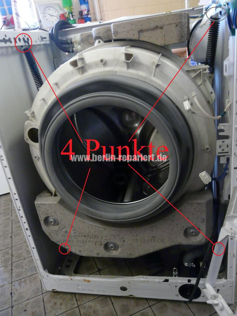 Bauknecht WA Sense XL34TDi, Kugellager Defekt (2)