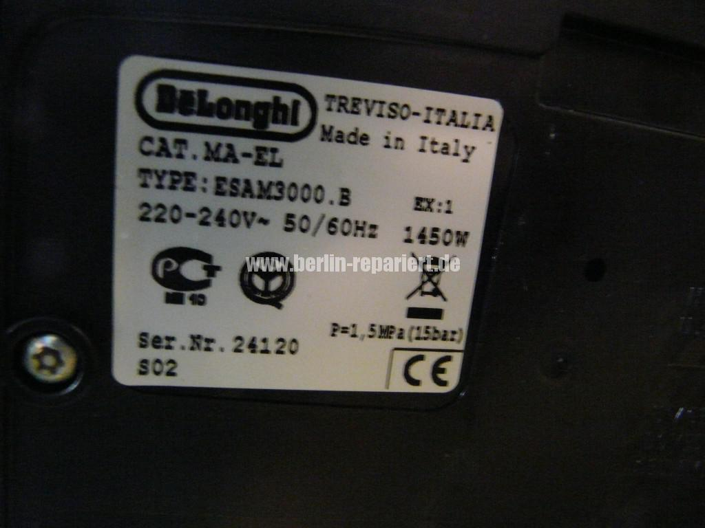 Delonghi ESAM300.B, keine Funktion (7)