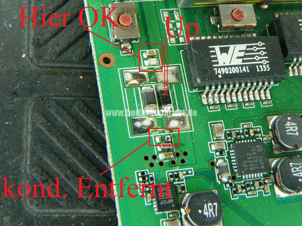 Fritz Box 6360 Cable, keine Funktion, Reparieren (11)
