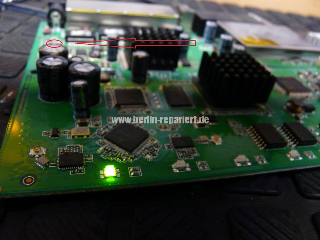 Fritz Box 6360 Cable, keine Funktion, Reparieren (13)