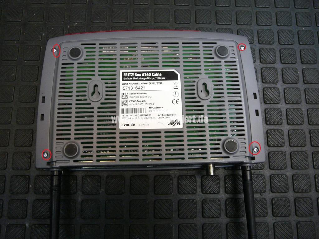 Fritz Box 6360 Cable, keine Funktion, Reparieren (2)