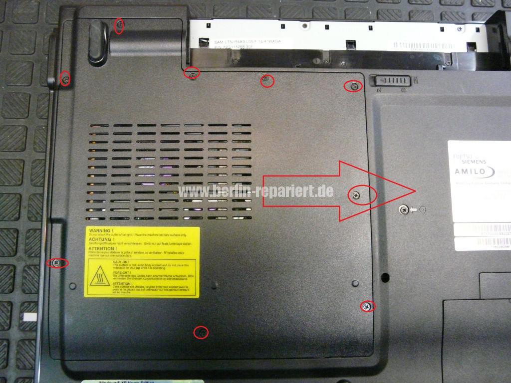 Fujitsu Amilo A1645, Bios Batterie (2)