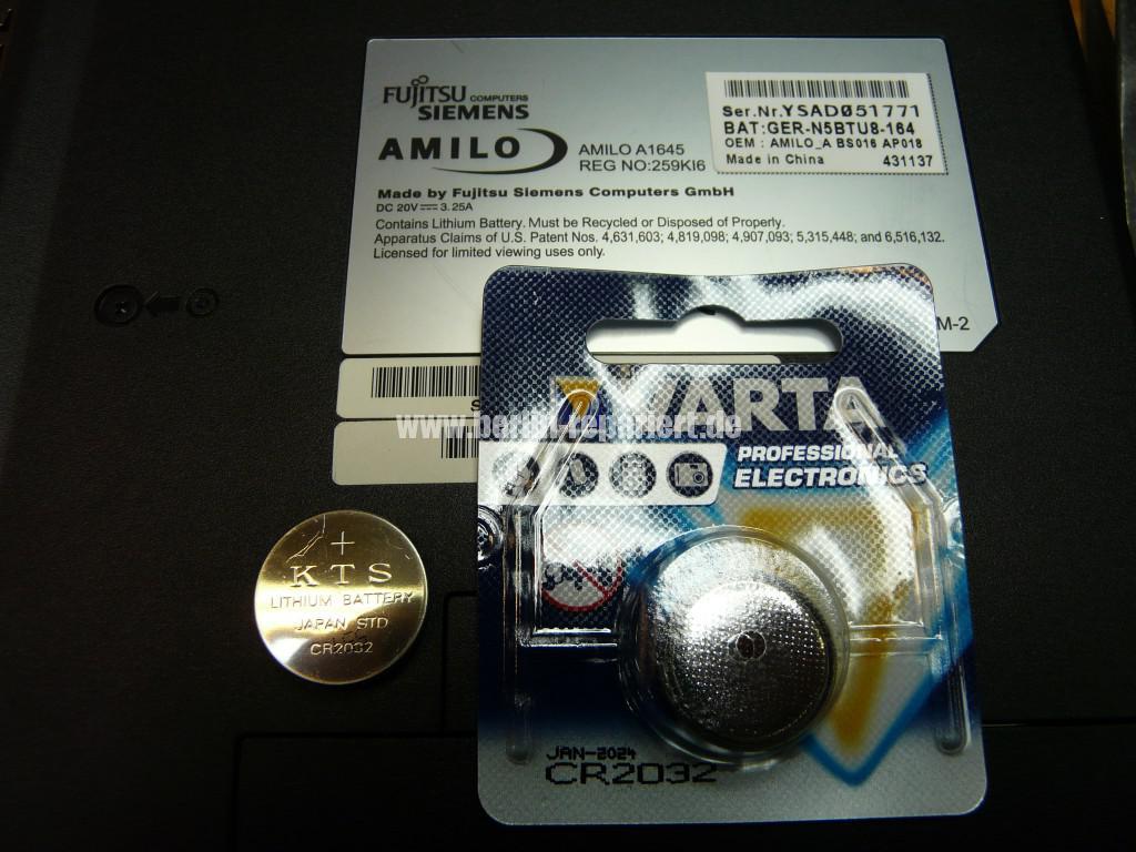 Fujitsu Amilo A1645, Bios Batterie (5)