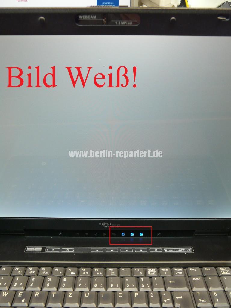 Fujitsu Siemens Amilo Xi2550, Startet nicht, kein Bild (10)